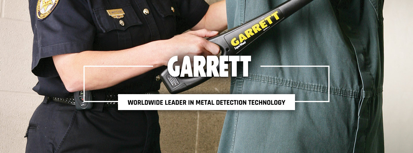 Garrett Metal Detectors gear at Galls, the public safety