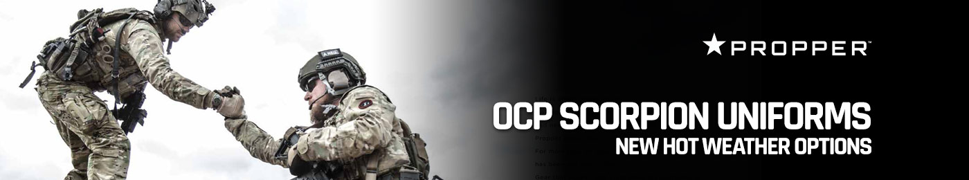 Propper OCP Scorpion Uniforms