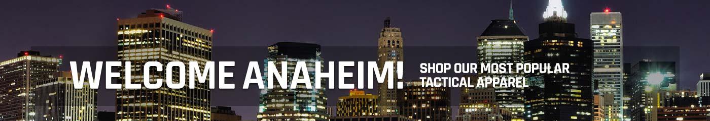 Welcome Anaheim