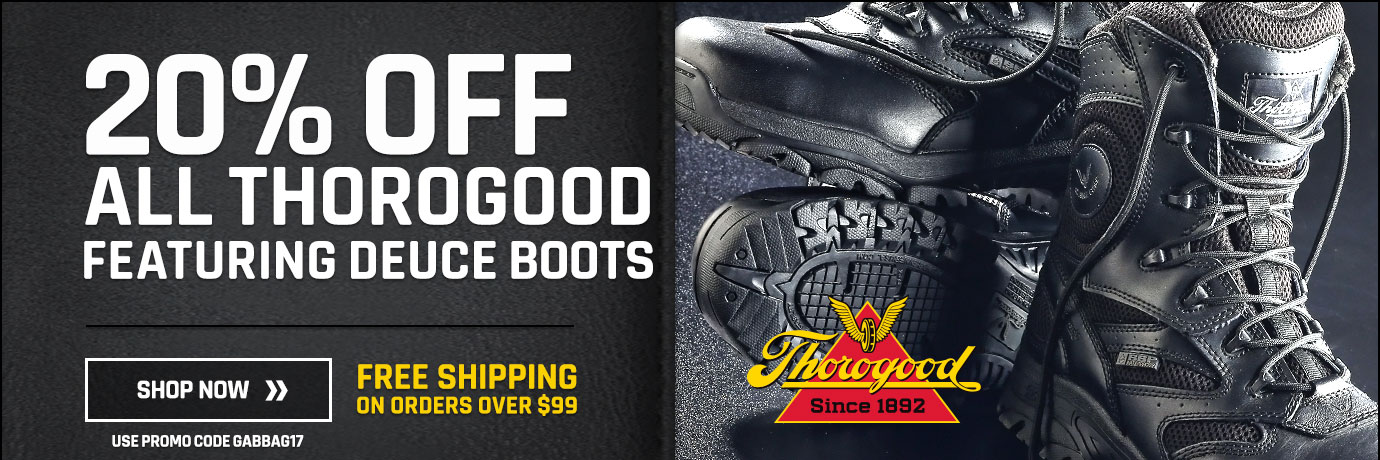 20% off all Thorogood