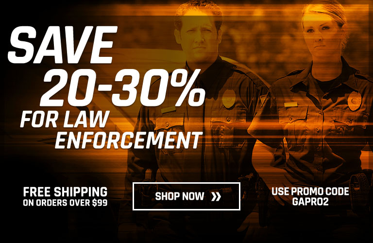Save 20-30% for Law Enforcement