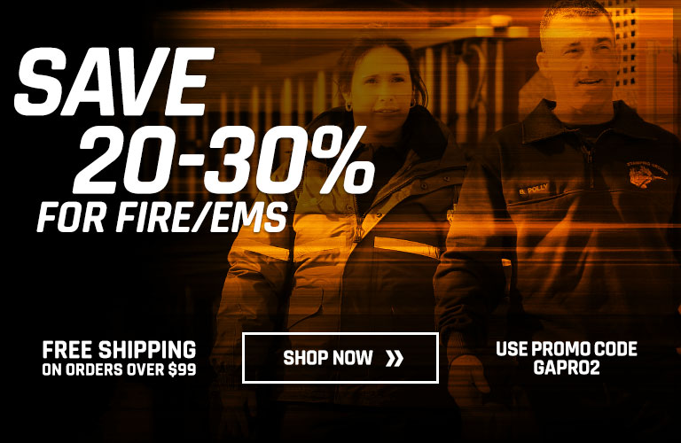 Save 20-30% for Fire/EMS
