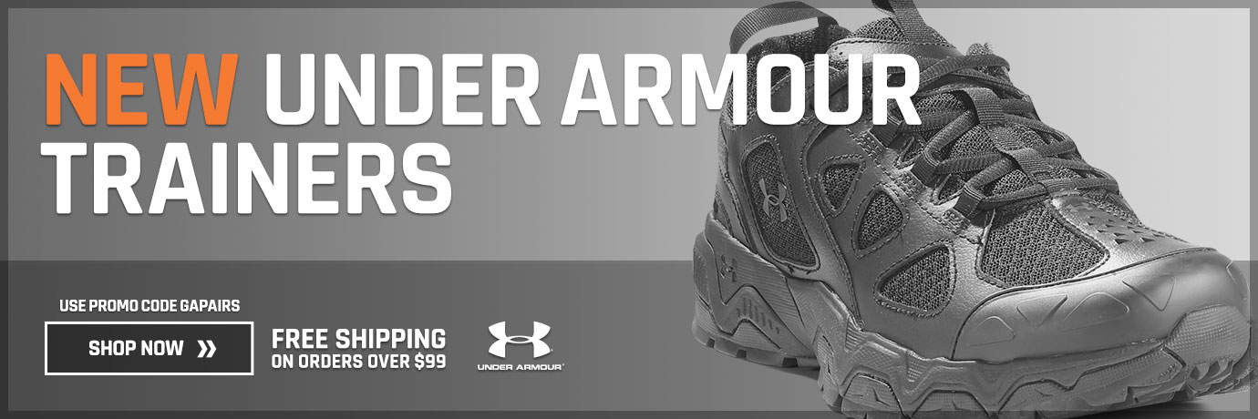 New Under Armour Trainers