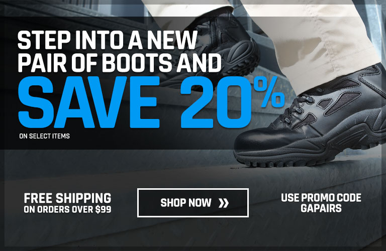 Step Into a New Pair of Boots and Save 20%