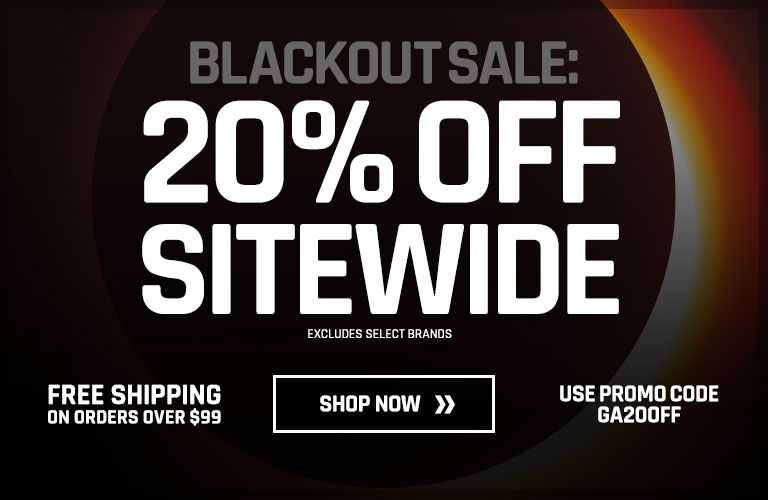 Blackout Sale: 20% off Sitewide