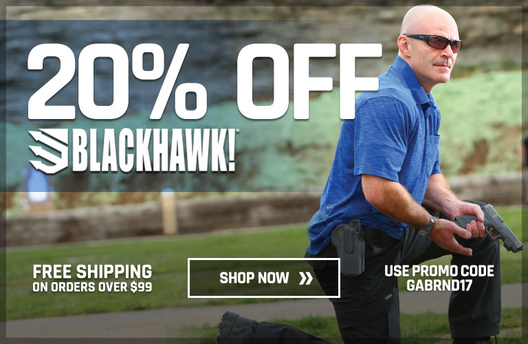 20% Off Blackhawk!