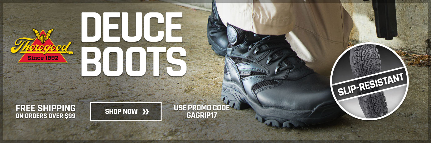 Slip-Resistant Boots featuring Thorogood Deuce