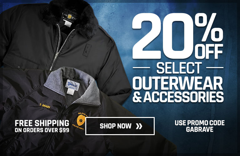 20% off select outerwear and accessories