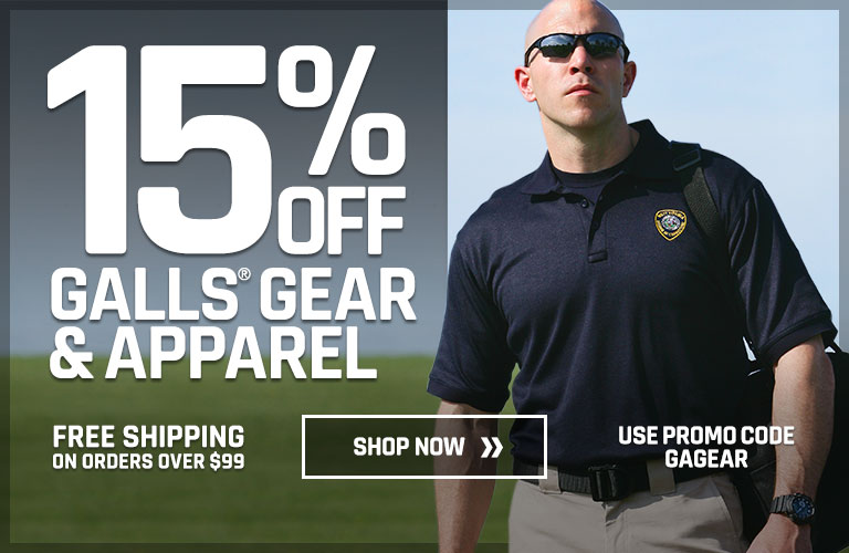 15% off all Galls gear and apparel