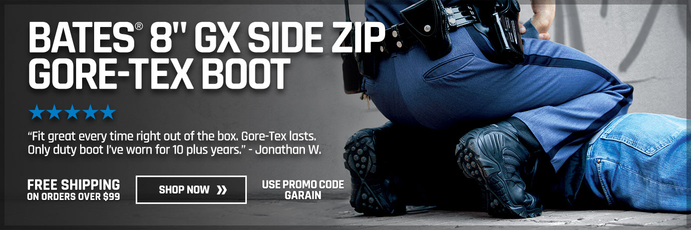 BATES 8 GX SIDE ZIP GORE-TEX BOOT