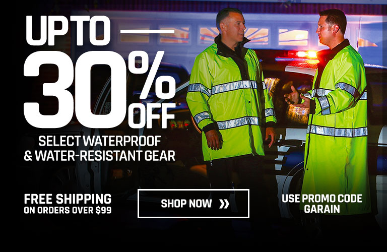 Up to 30% off Select Waterproof and Water-resistant Gear