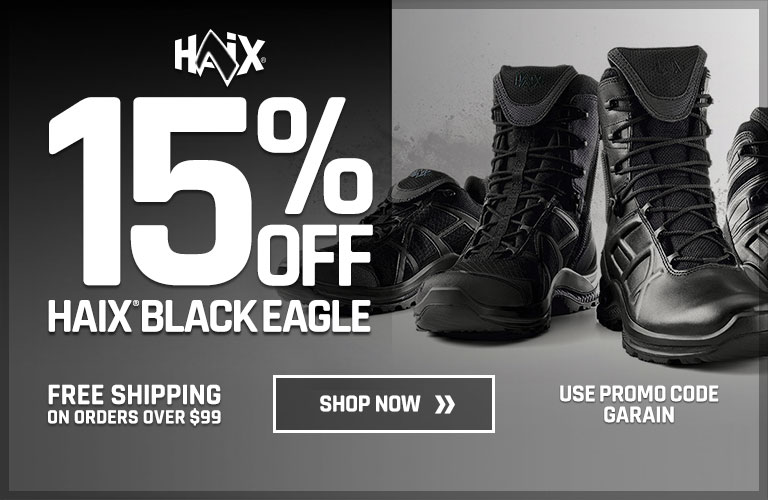 15% off HAIX Black Eagle