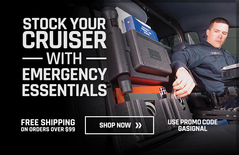 Stock Your Cruiser with Emergency Essentials
