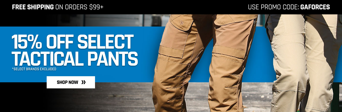 Save on select Tactical Pants
