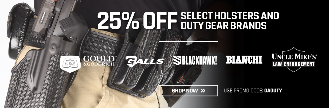 25% off select holsters
