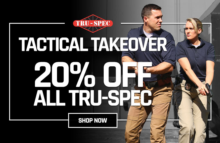 20% off all Tru-Spec