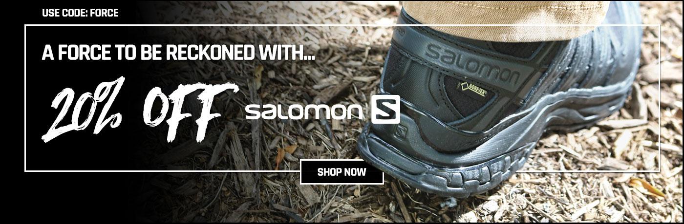 20% off Salomon