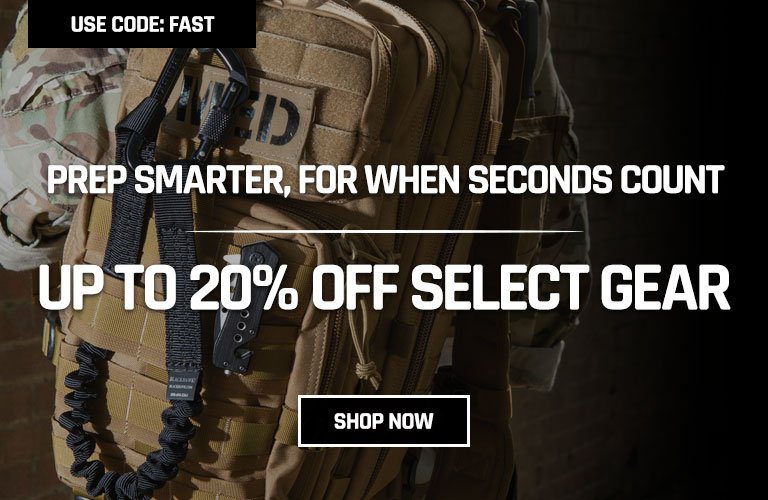 Up to 20% Off Select Gear