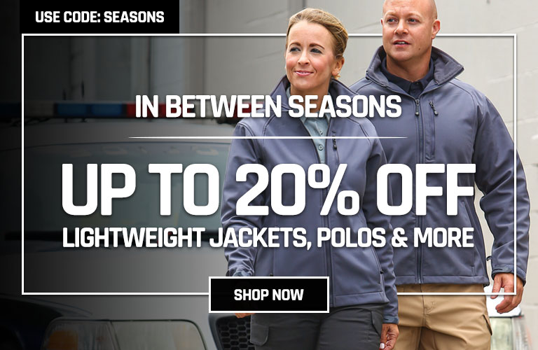 Up to 20% Off Select jackets and polos