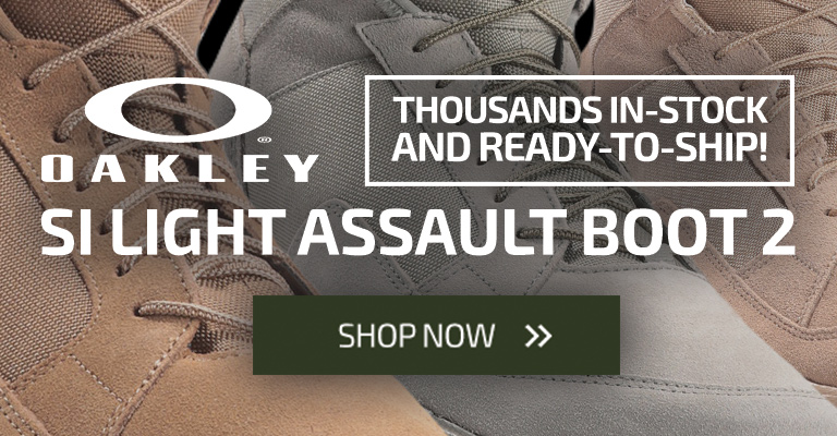 New Oakley SI Assault 2 Boots