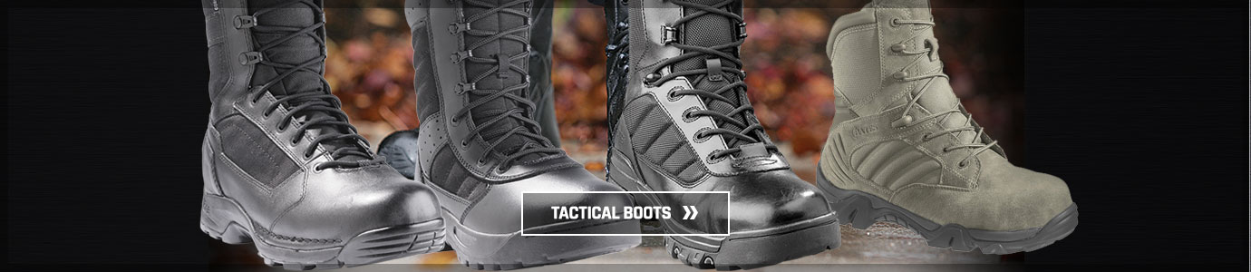 Tactical boots at Galls