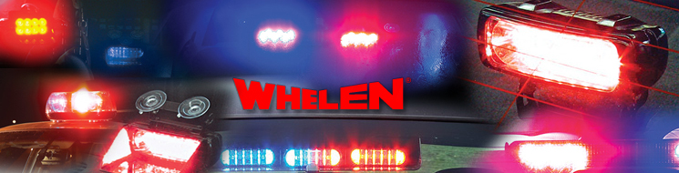 Whelen warning lights, Whelen lightbars, Whelen LED lights, Whelen dash lights