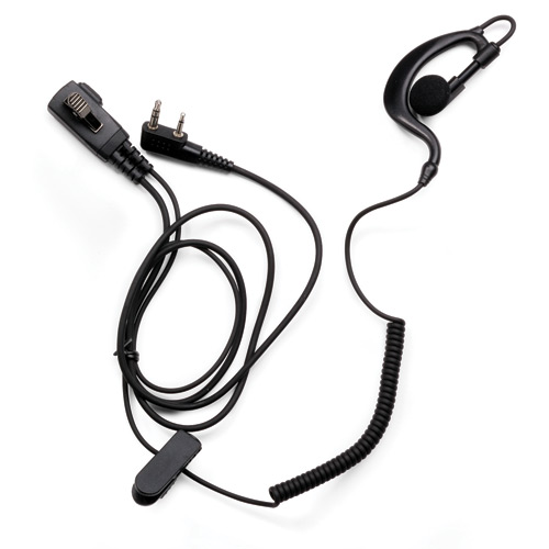 Klein Electronics Two Wire Bodyguard Earpiece with Rubber Ea