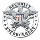 Galls Security Officer Round Badge