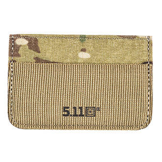 NYLON  CAMOUFLAGE  WALLET WITH SECURITY CHAIN