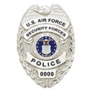 Smith and Warren U.S. Air Force Security Police Badge