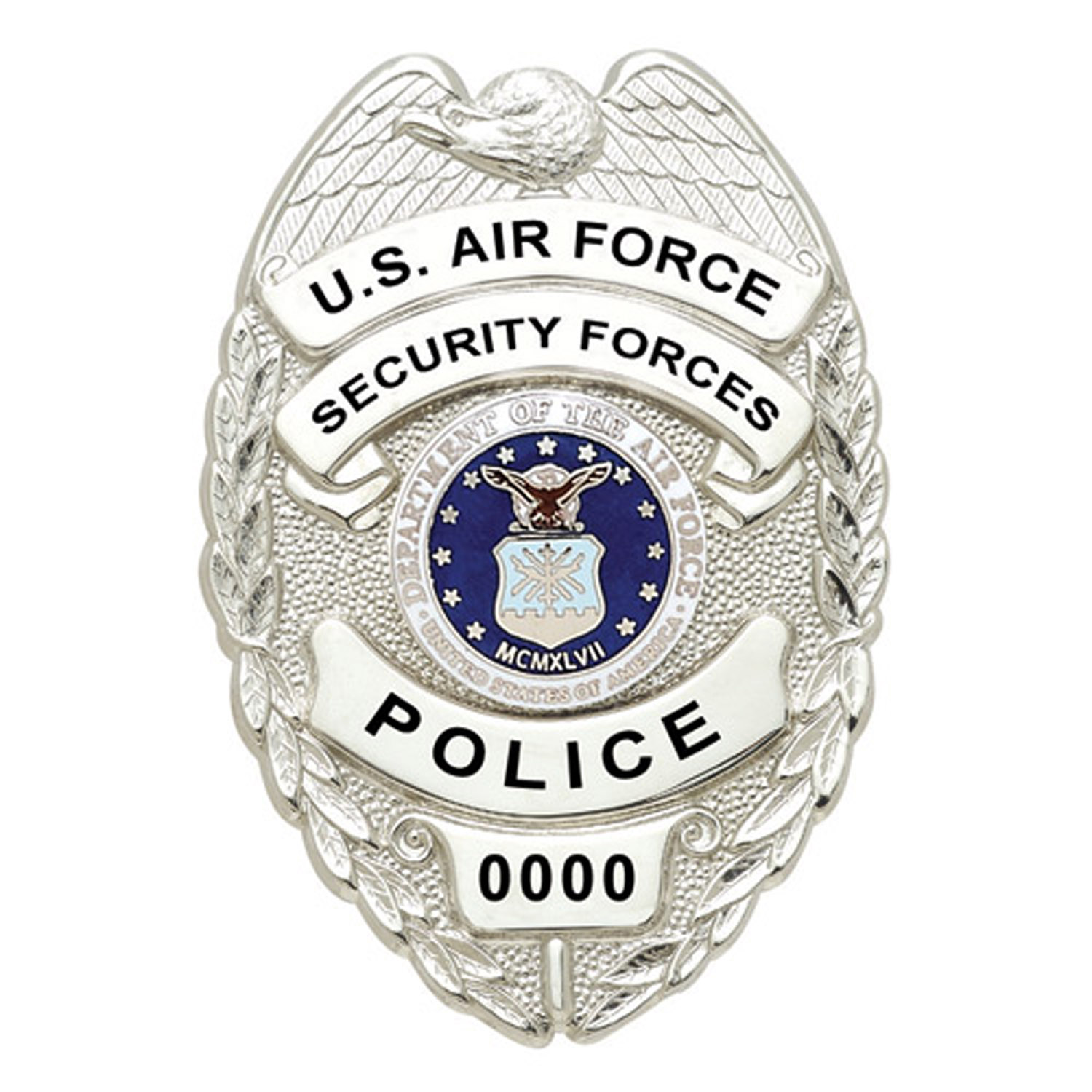 Smith And Warren U S Air Force Security Police Badge