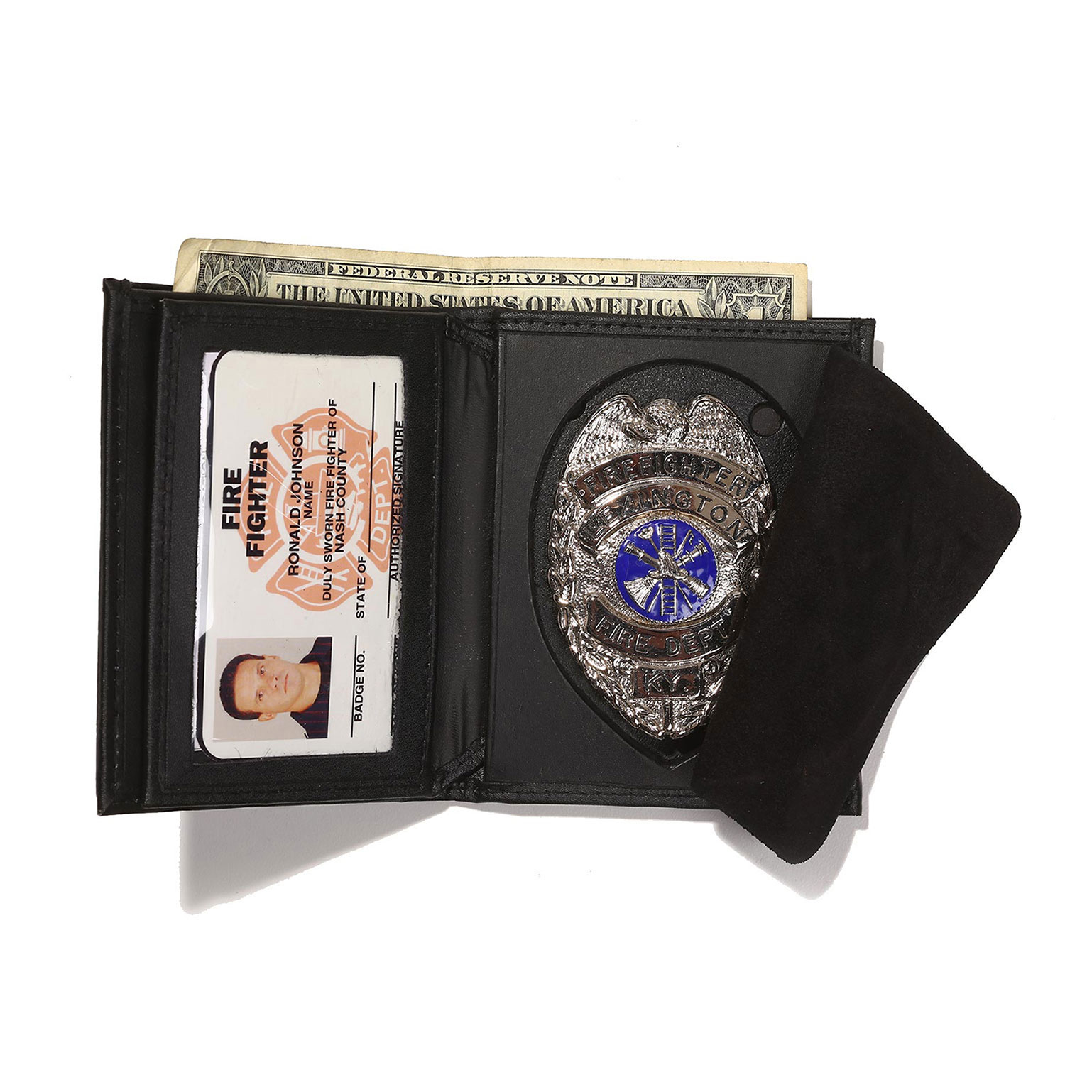 Galls Hidden Badge/ID/CC Wallet