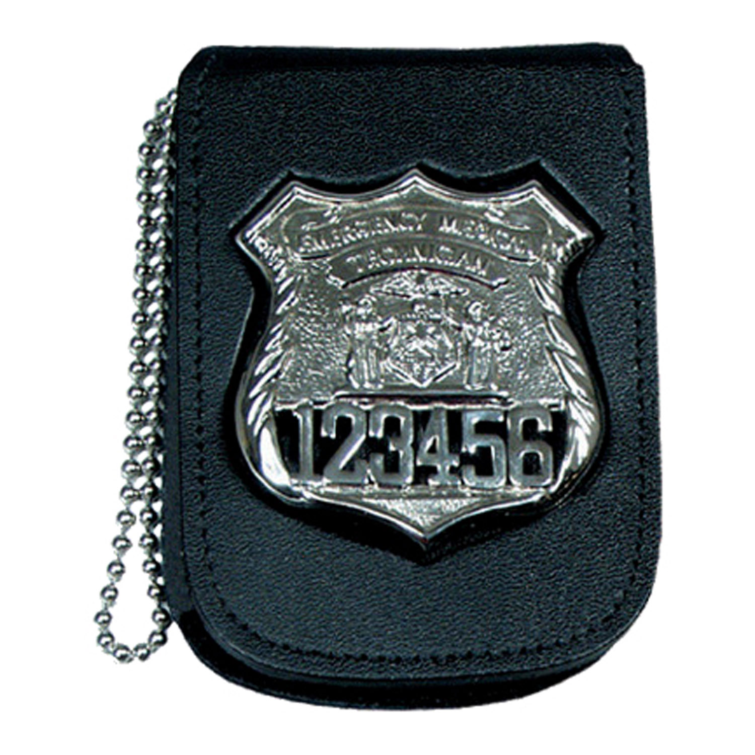 Smith & Warren Recessed Neck Badge and ID Shield Holder with