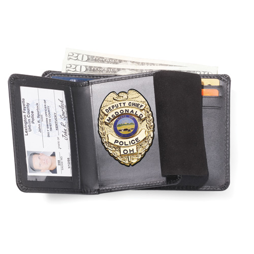 Strong Badge Case and Wallet Combo