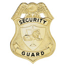 LawPro Security Guard Breast Badge with Lion