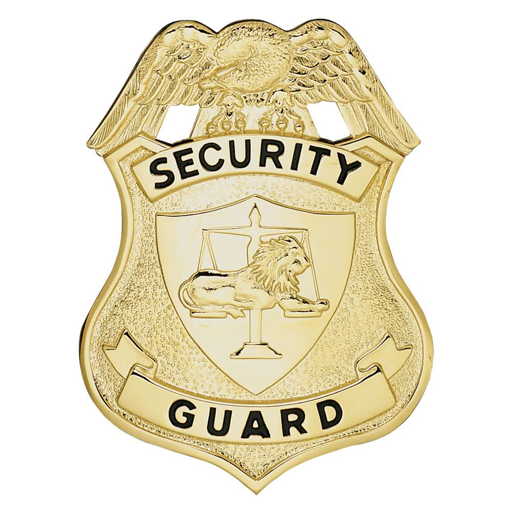 ... > Stock Badges > LawPro Security Guard Breast Badge with Lion: www.galls.com/lawpro-security-guard-breast-badge-with-lion
