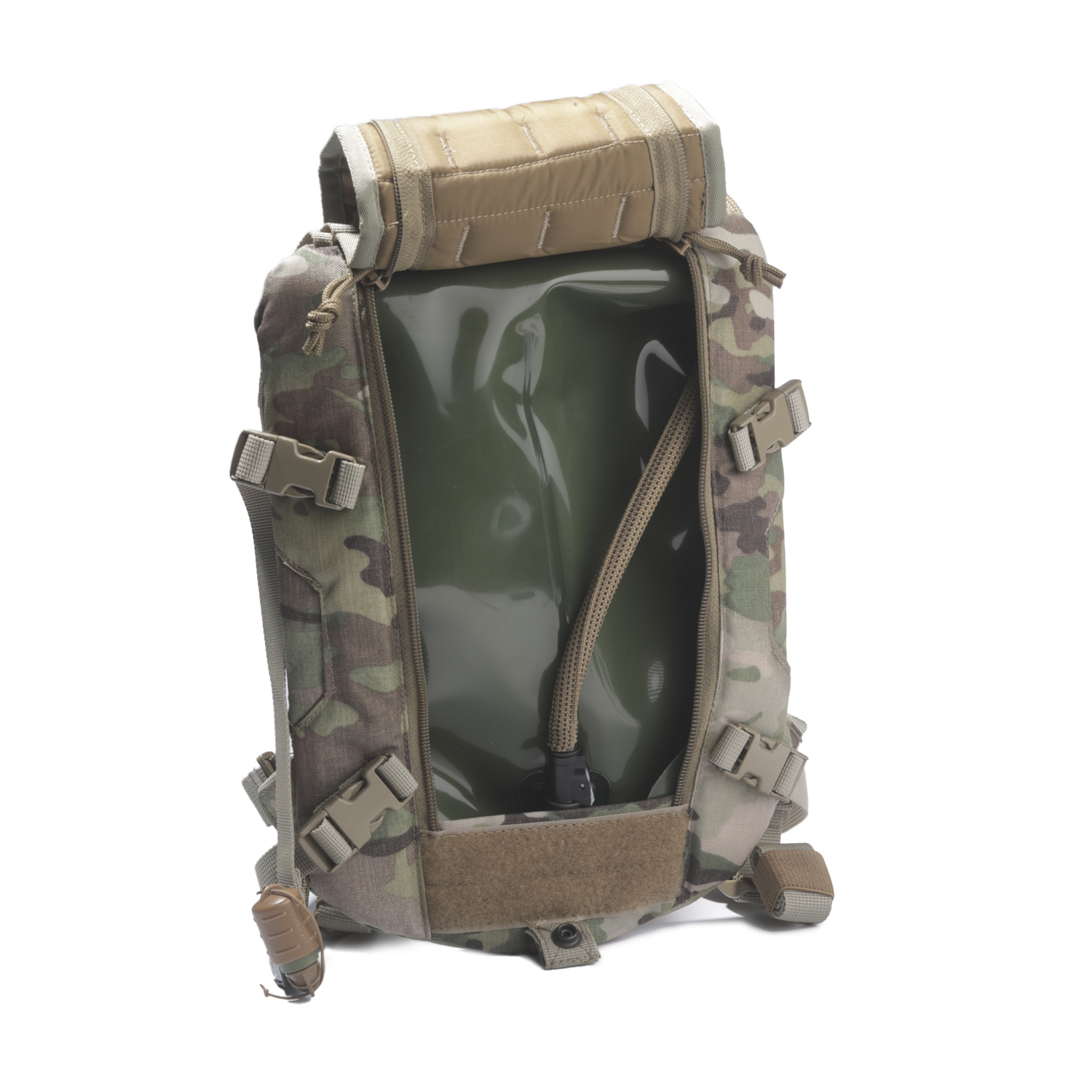 WITH 3L Bladder US Military Carrier Hydration System Backpack Molle II Storm