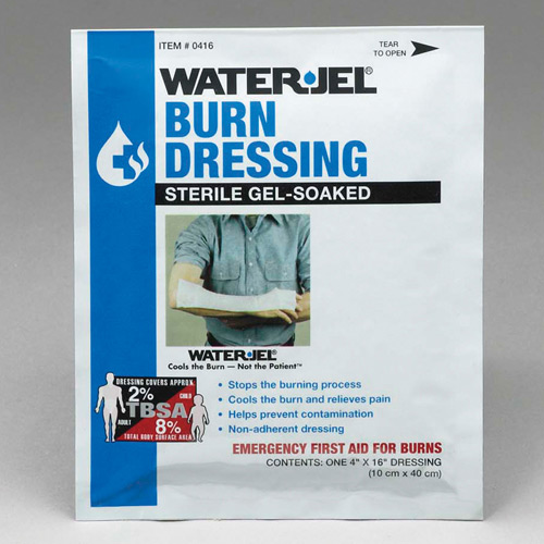 "Water-Jel Sterile Burn Dressing 4"" x 16"""