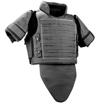 Galls by Point Blank SMG Ballistic MOLLE Vest NIJ Number CIIIA