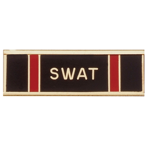 Blackinton Commendation Bar S.W.A.T. Certification