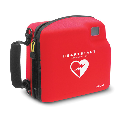 Medic First Aid International's HeartStart FR2 Hard Shell Ca