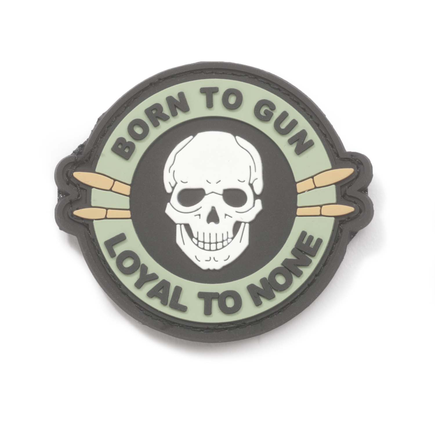 """Born to Gun, Loyal to None"" PVC Morale Patch"