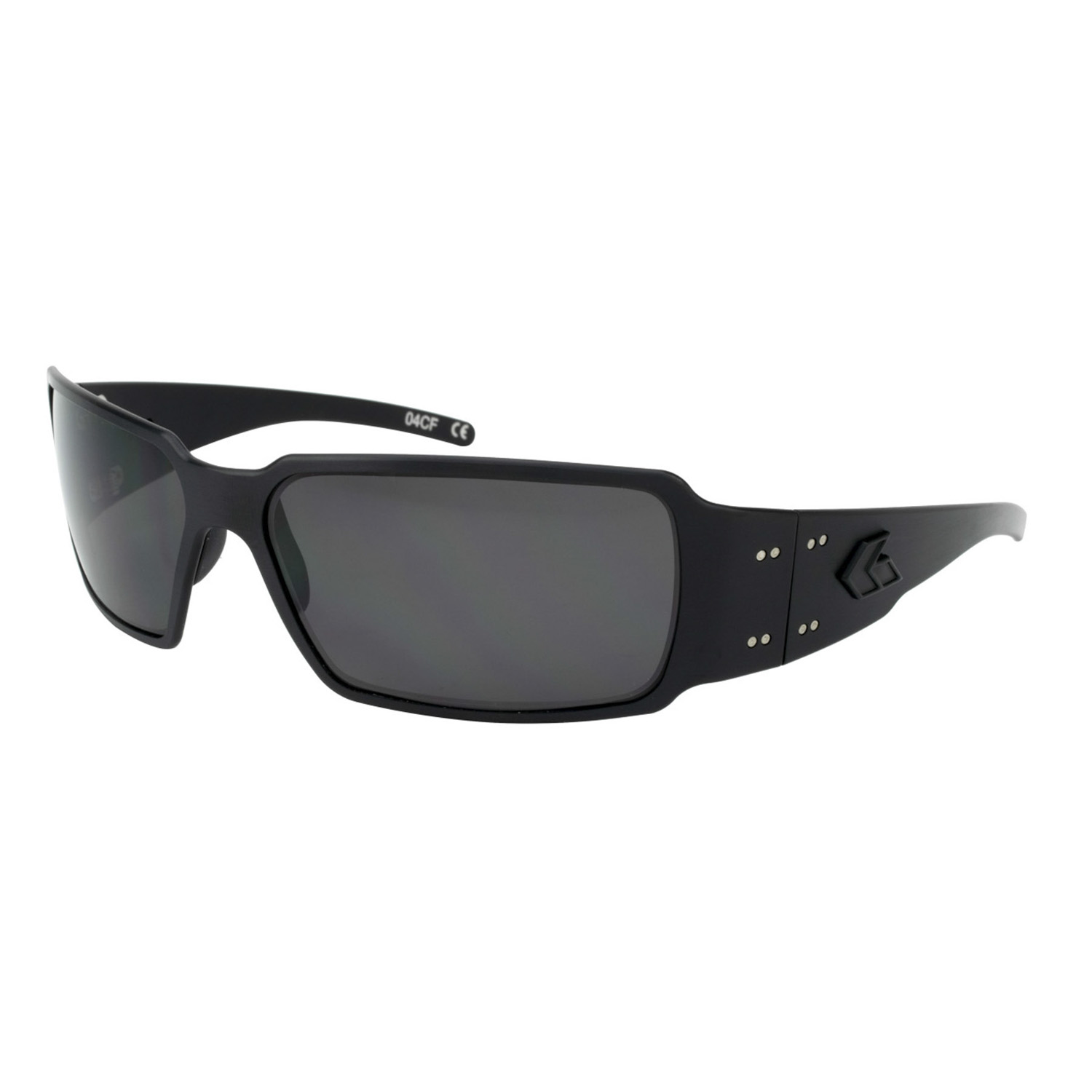 Gatorz Boxster Blackout Sunglasses with Polorized Lens