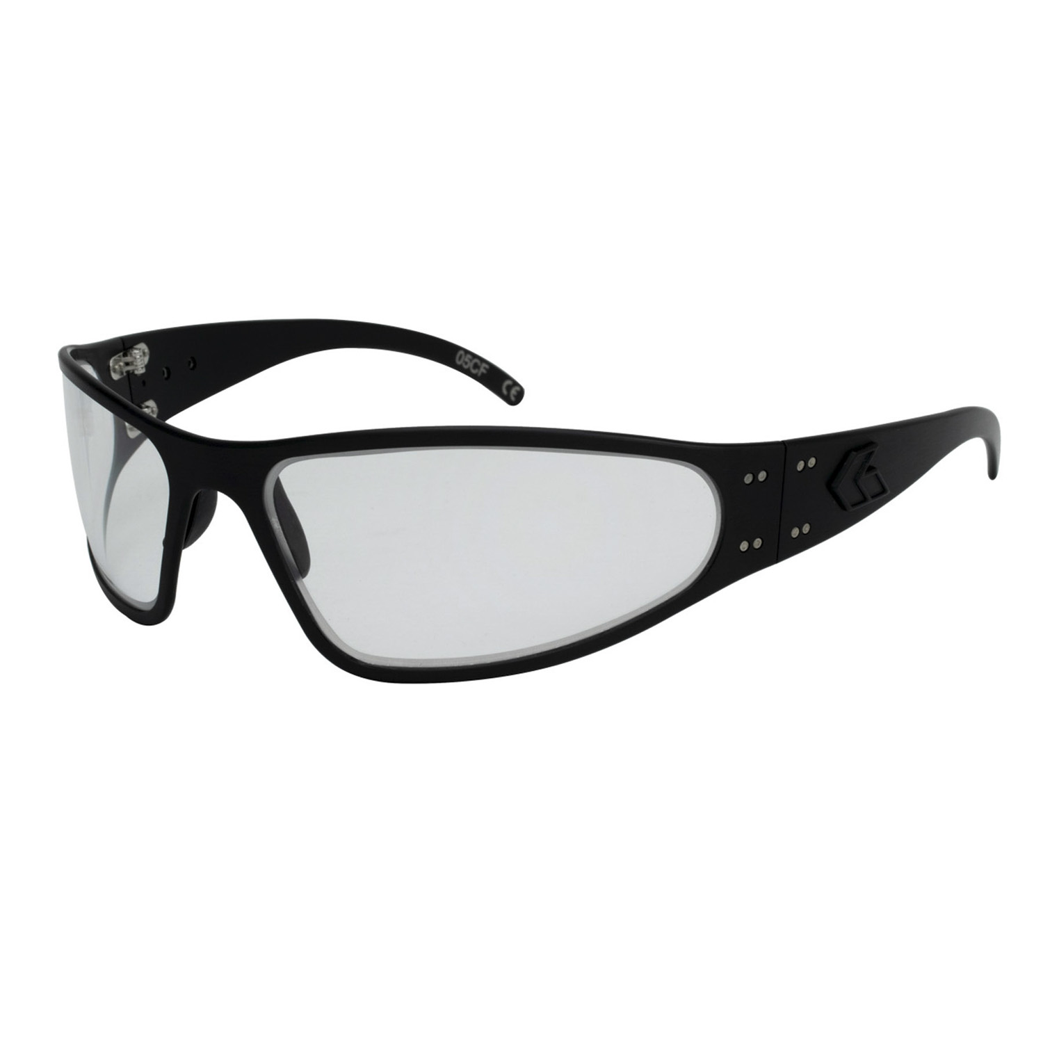 Gatorz Wraptor Blackout Inferno Sunglasses