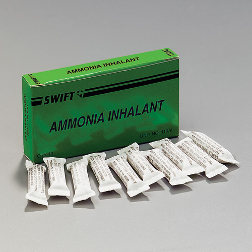 Swift First Aid Ammonia Inhalants (10 Per Box)