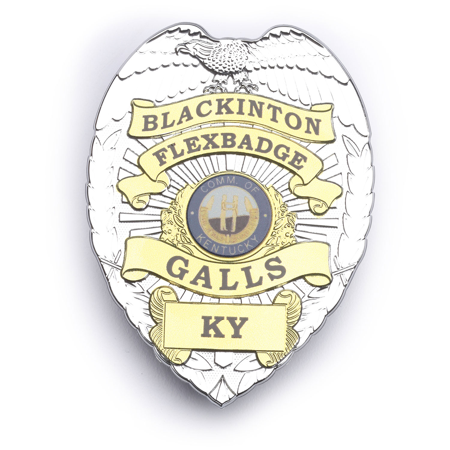 Blackinton FlexBadge FLX736 Shield