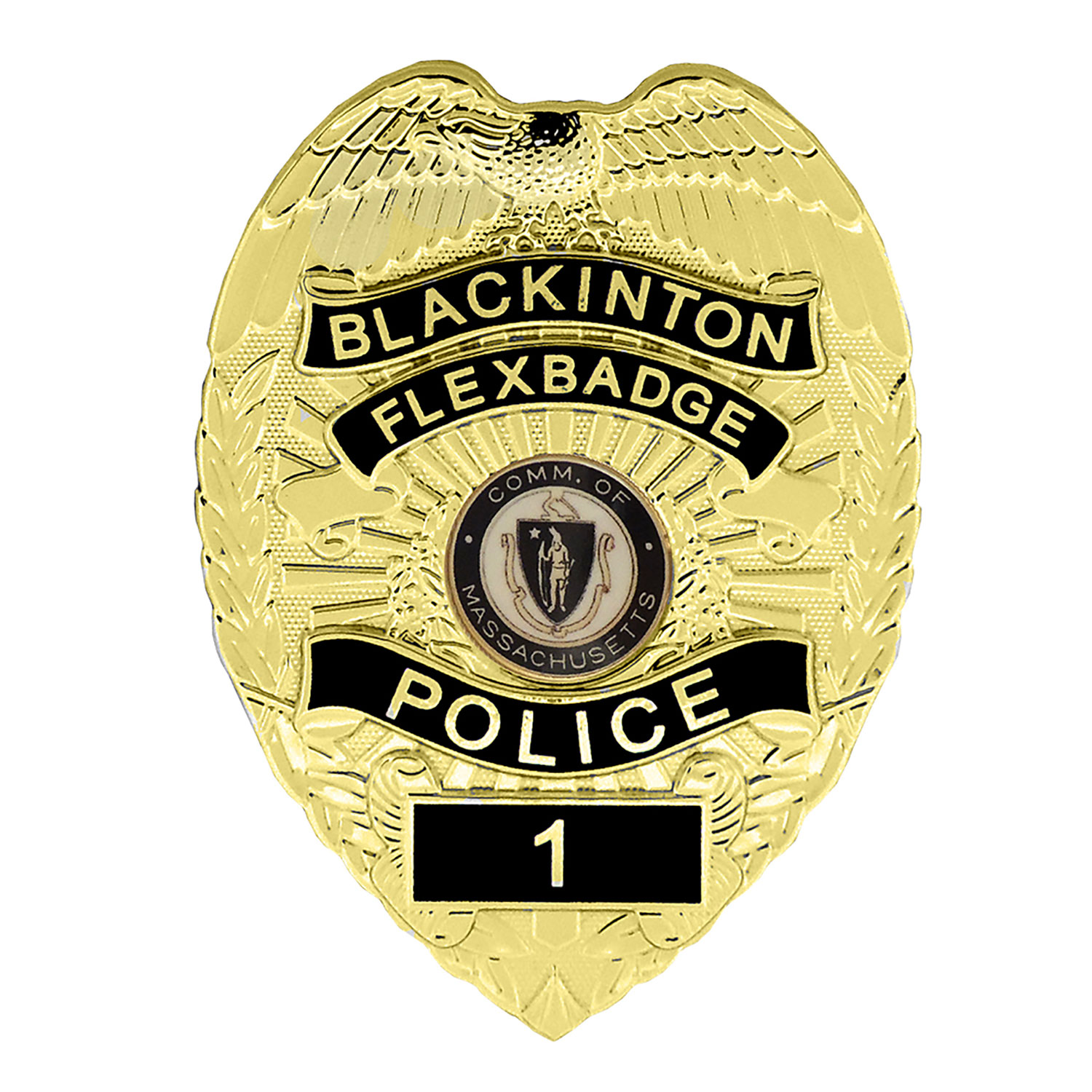 Blackinton FlexBadge FLX736-R Shield