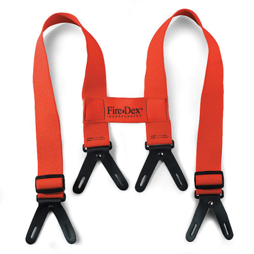 Fire-Dex Red H Style Suspenders