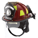 Paul Conway American Heritage Leather Helmet with ESS Goggles