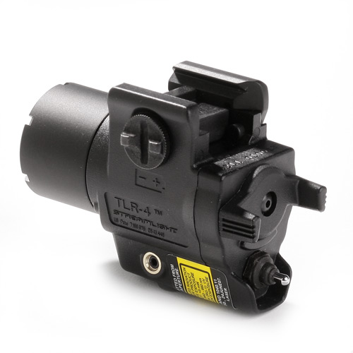 Streamlight Tlr 4 Compact Weapon Light With Laser Sight At